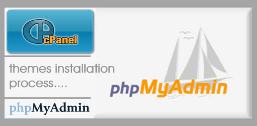 Process of cPanel phpMyadmin Themes Installation
