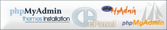 phpMyAdmin Themes Installation